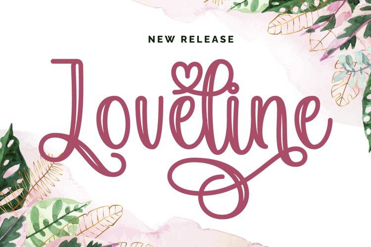 Loveline - Free Font Of The Week