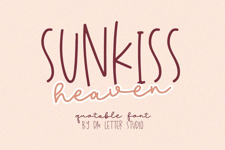 Sunkiss Heaven example image 1