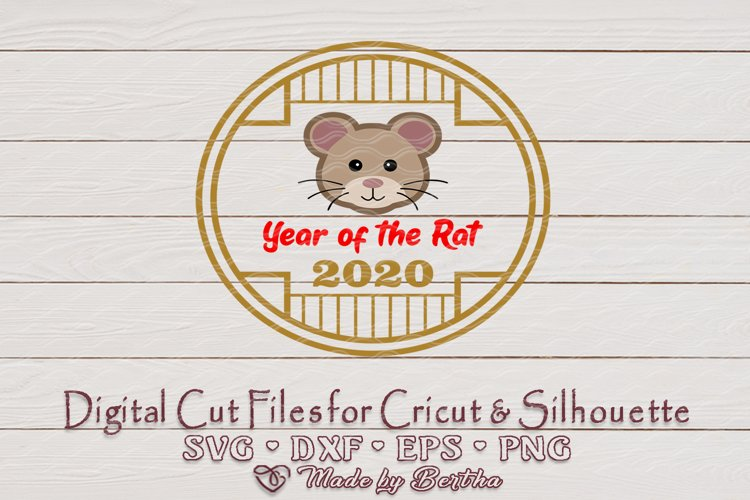 Chinese New Year, Year of the Rat, CNY, Boy Rat, SVG file