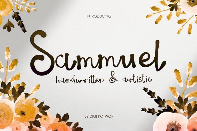 Sammuel Font example image 1