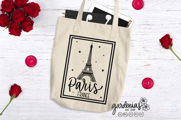 Paris France SVG | Eiffel Tower Cut Files | French Design