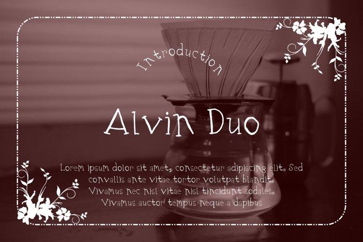 Alvin Duo example image 1