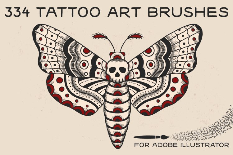 Tattoo Art Brushes for AI example image 1