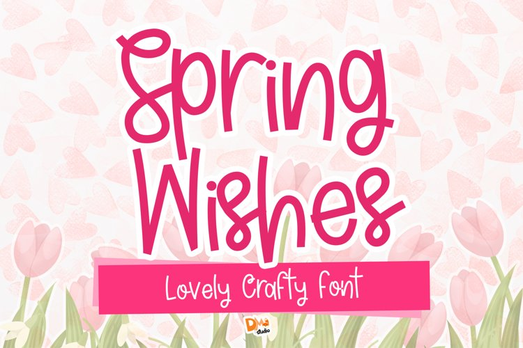 Spring Wishes example image 1
