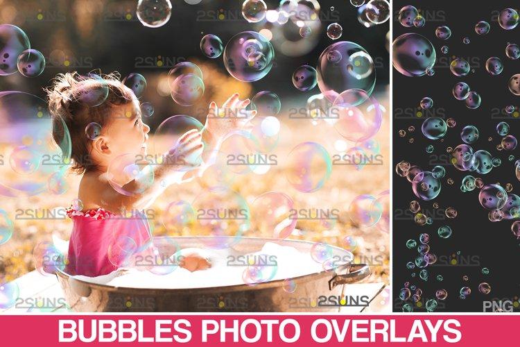 30 Photoshop overlay Bubble overlays, Soap bubbles example image 1