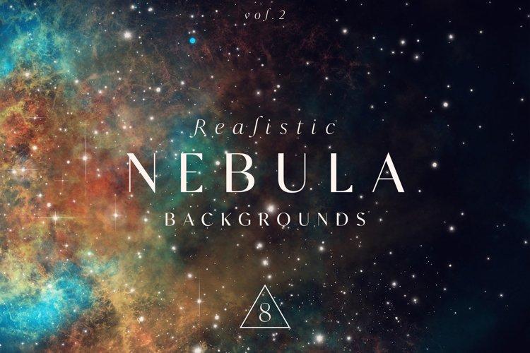 Realistic Nebula Backgrounds Vol.2