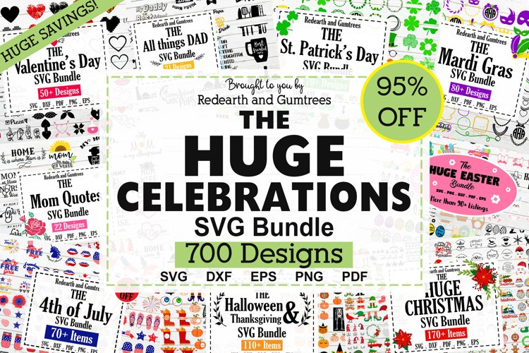 HUGE Holiday and Celebration Bundle SVG,Christmas,Halloween