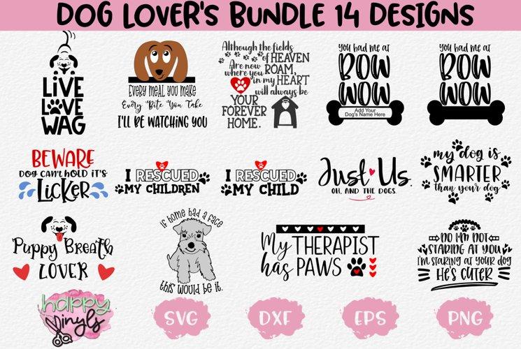 Dog Lovers Bundle - A Dog SVG Bundle