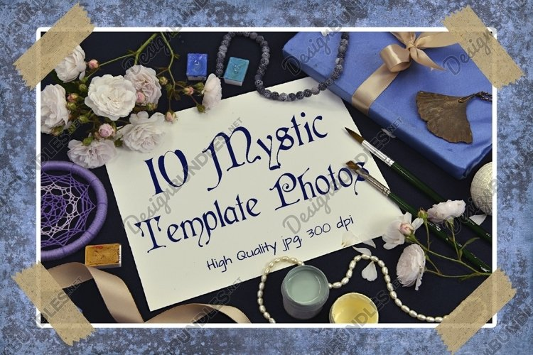 Mystic and romantic background example image 1