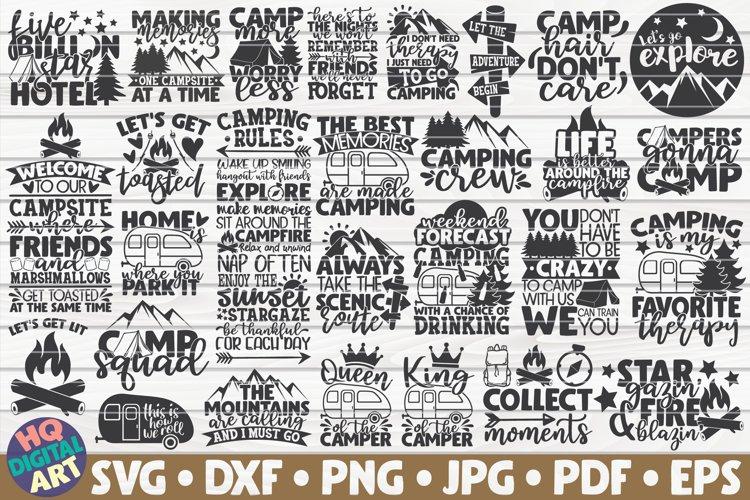 Camping SVG Bundle Best Seller 28 designs