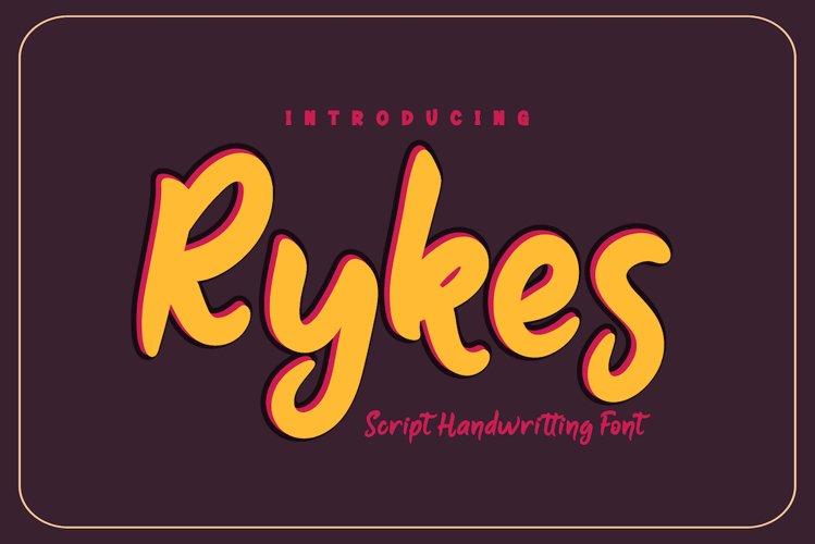 Rykes example image 1