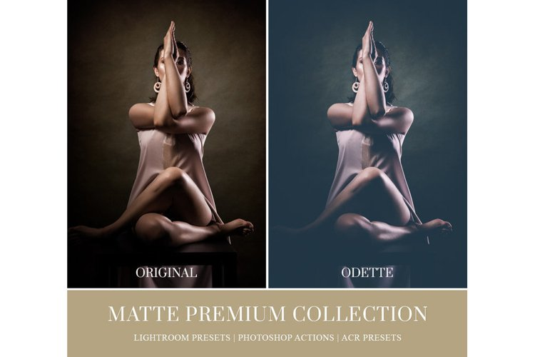 MATTE LIGHTROOM PRESETS, PHOTOSHOP ACTIONS AND ACR PRESETS