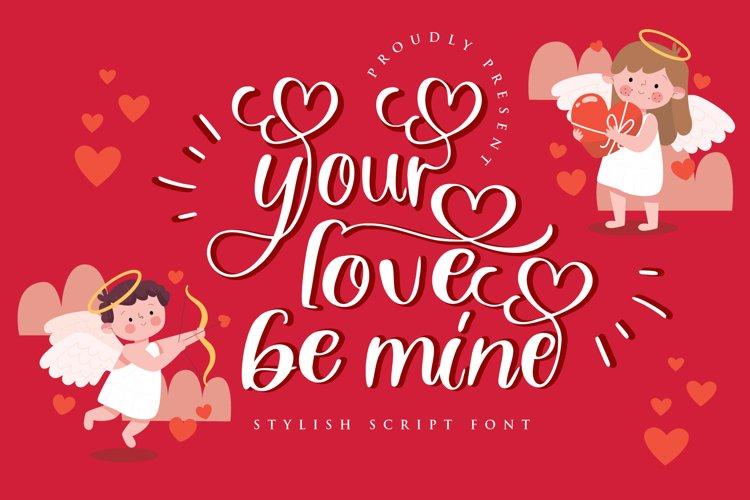 your love be mine valentine example image 1