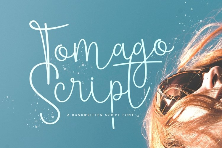 Web Font Tomago Script example image 1