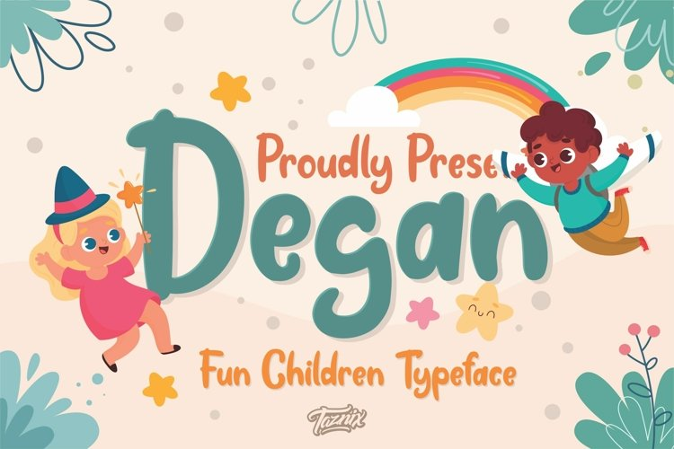 Degan Kids Font
