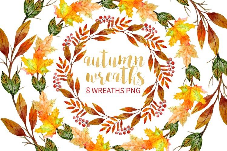 Autumn Wreath Clipart