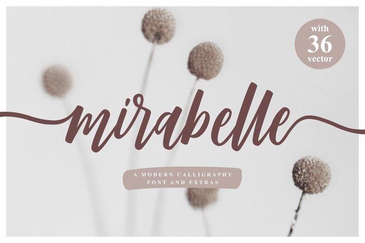 Mirabelle - Modern Script example image 1