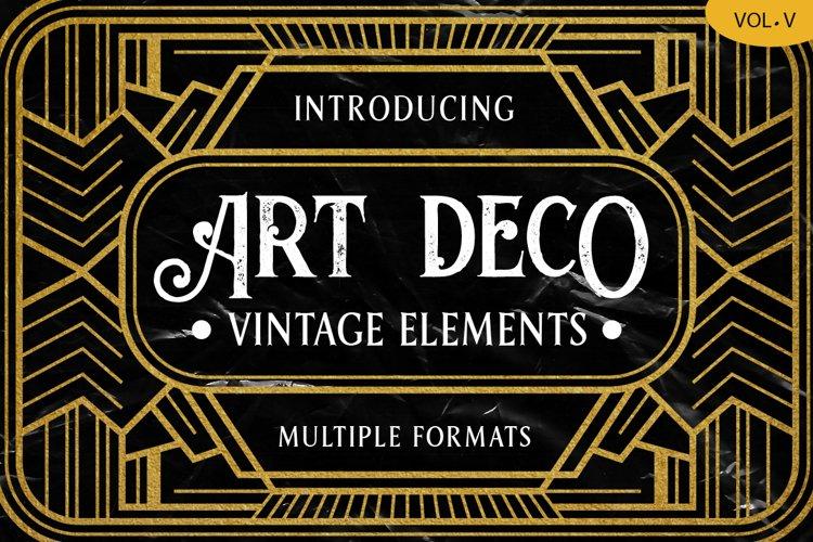 Art Deco Vintage Badges Vol. V