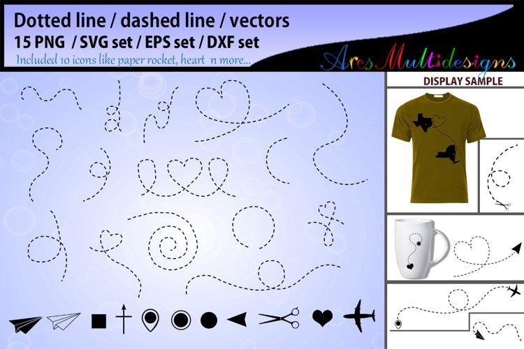 Dotted line svg vector dashed line svg vector dashed line example image 1