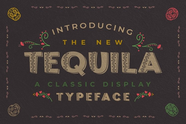 Web Font Tequila example image 1