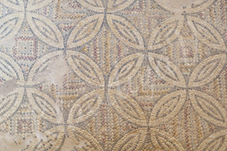 Background from ancient greek mosaic
