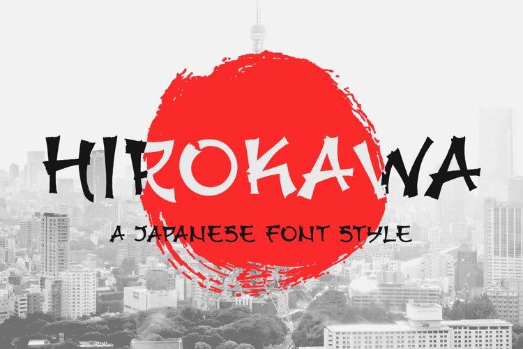 Japanese Font example image 1