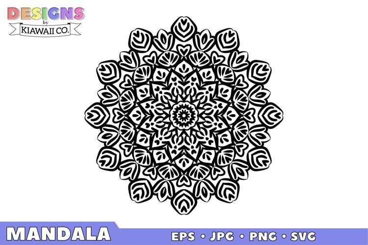 Mandala 5 EPS, JPG, PNG, SVG example image 1