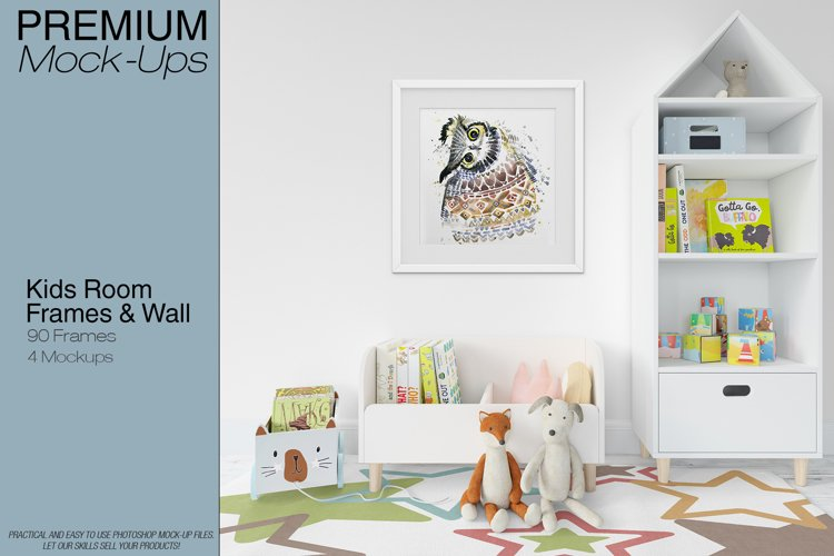 Kids Room - Wall Carpet & Frames example image 1