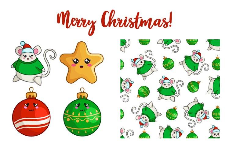 Christmas Kawaii Collection - vol.1 example image 1