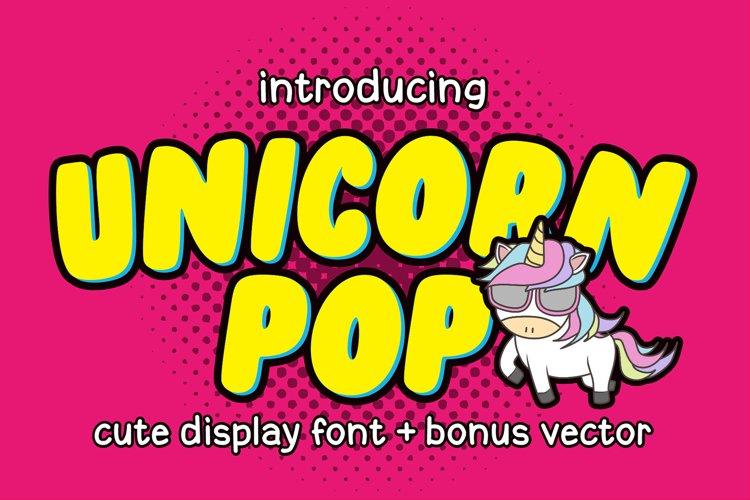 Unicorn Pop example image 1