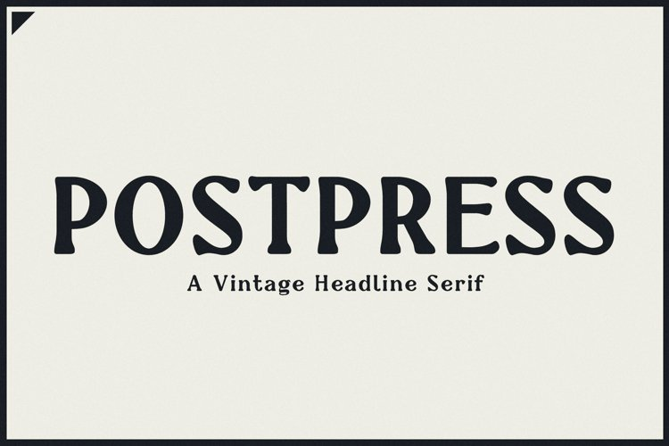 Newspaper Font | Postpress