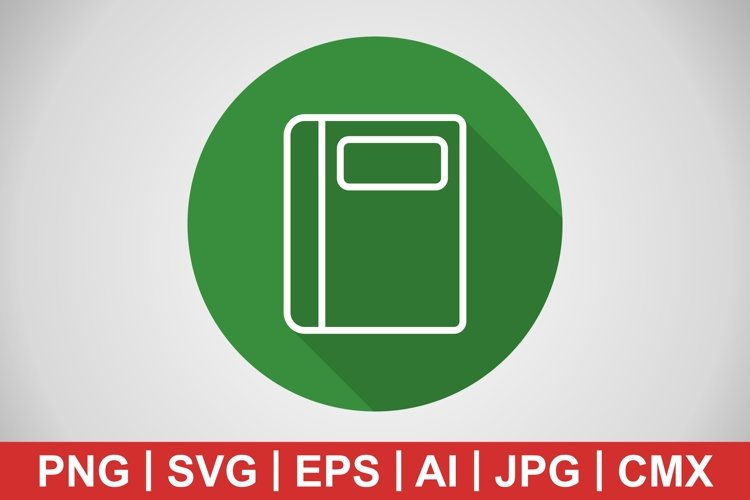 Vector Notebook Icon example image 1