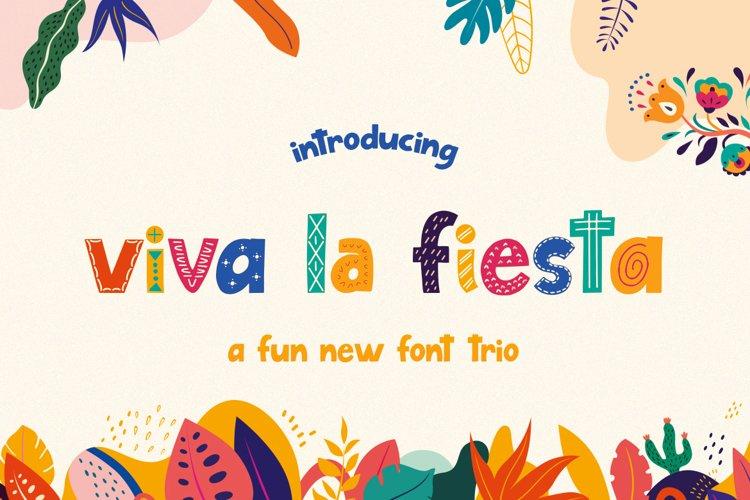 Viva La Fiesta Font Trio example image 1