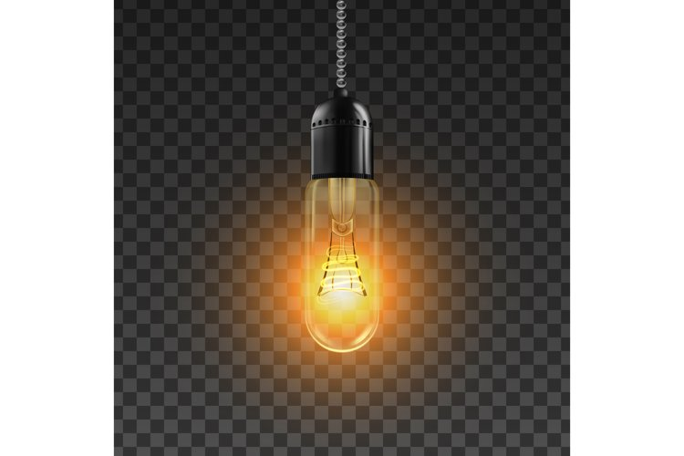 Light Bulb Vector. Solution Sign Light Bulb Icon. Bright example image 1