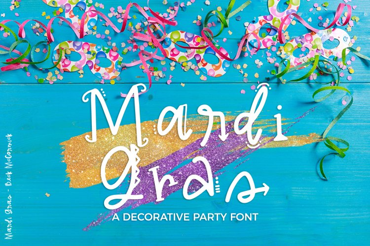 Mardi Gras Party Sans Font