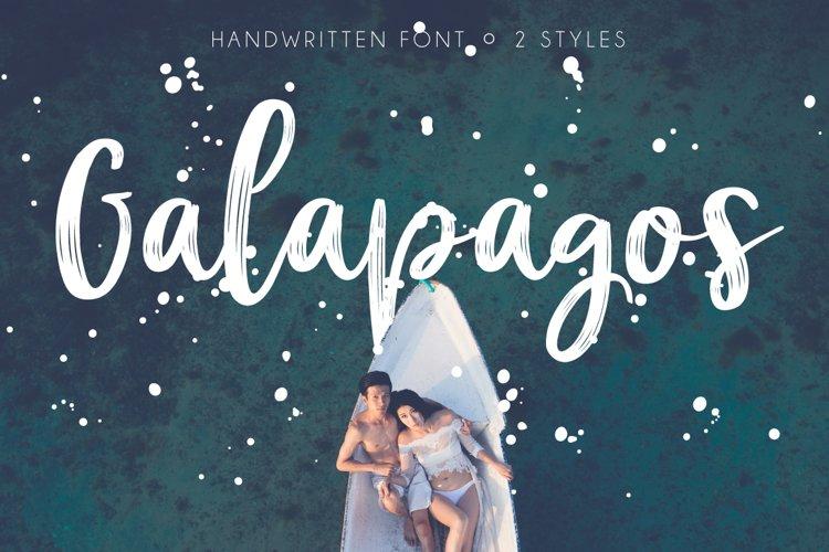 Galapagos Script example image 1