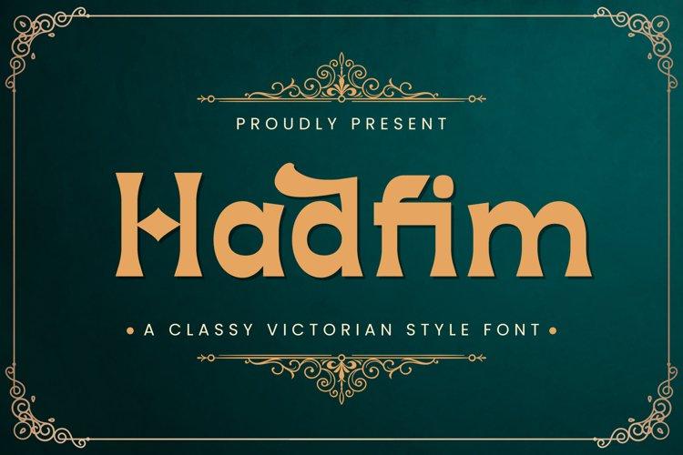Hadfim - Blackletter Font example image 1