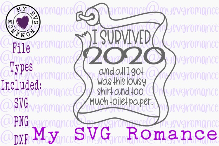 I Survived 2020 And All I Got Was This Lousy... SVG PNG DXF