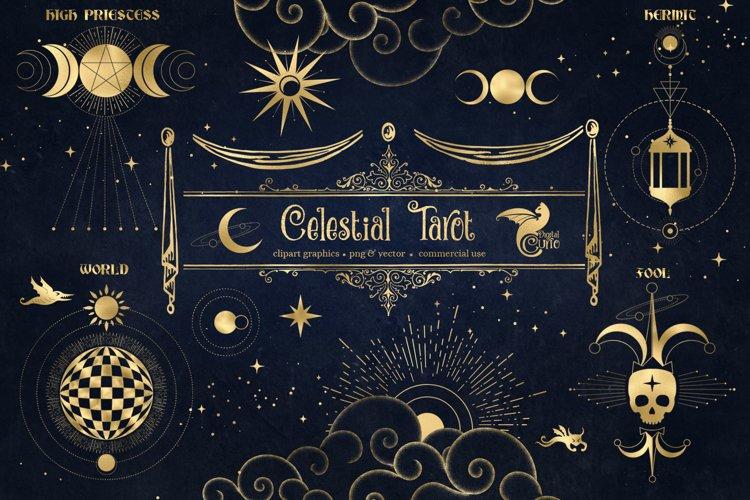 Celestial Tarot Illustrations