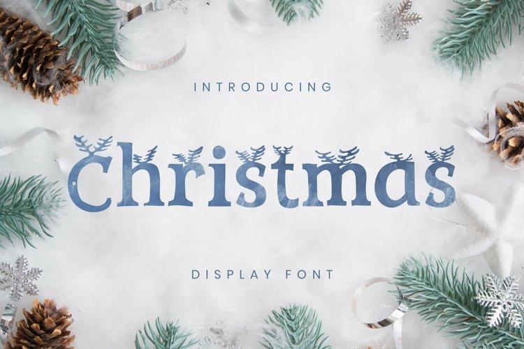Web Font Christmas Font example image 1