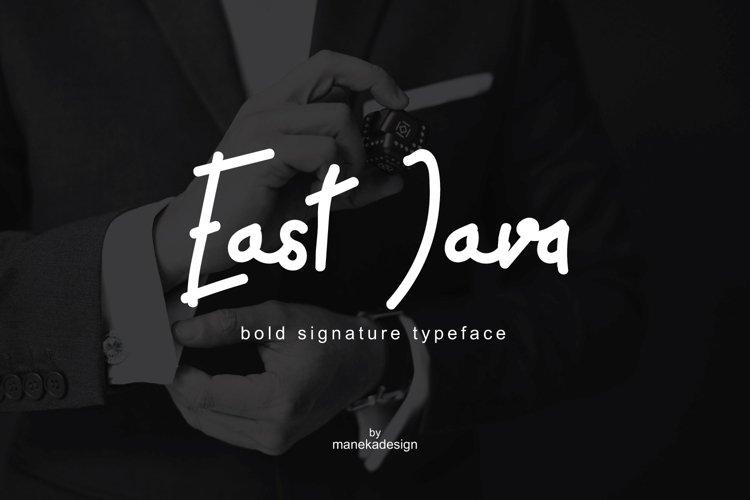 East Java   Bold Signature