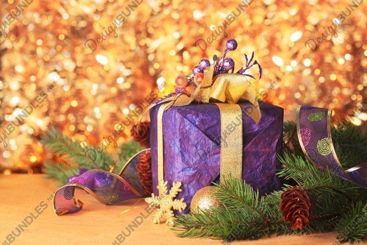 Present ang decor for Merry Christmas