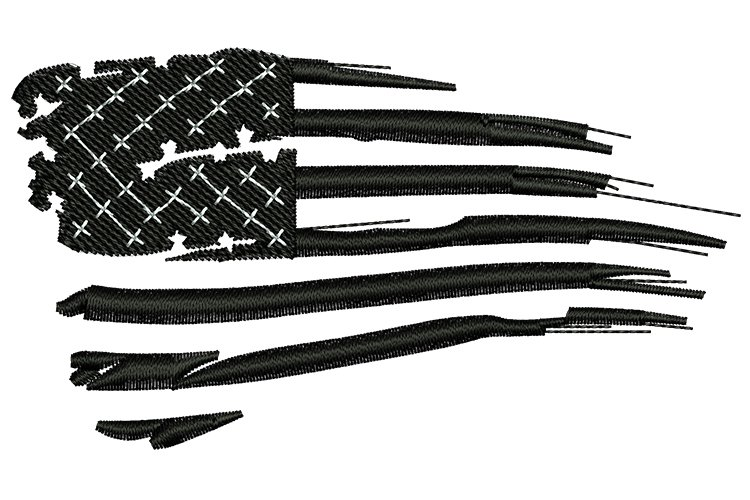 American Flag Machine Embroidery Designs