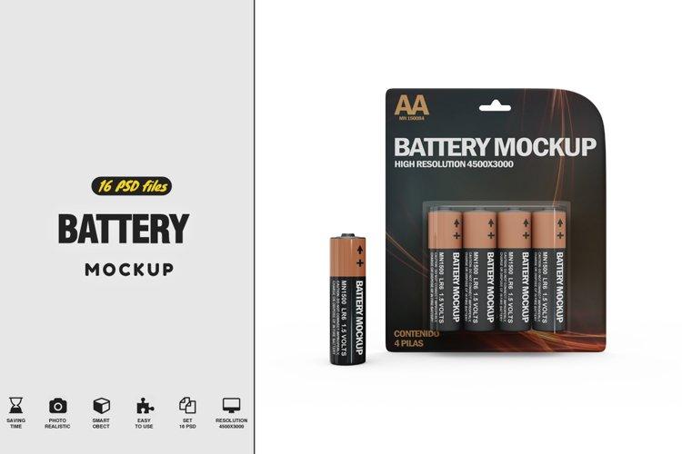 Battery Mockup example image 1