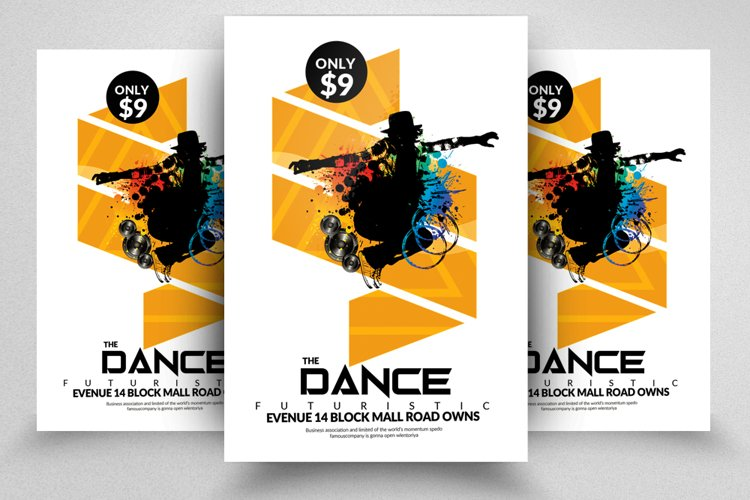 Street Dance Flyer Template example image 1