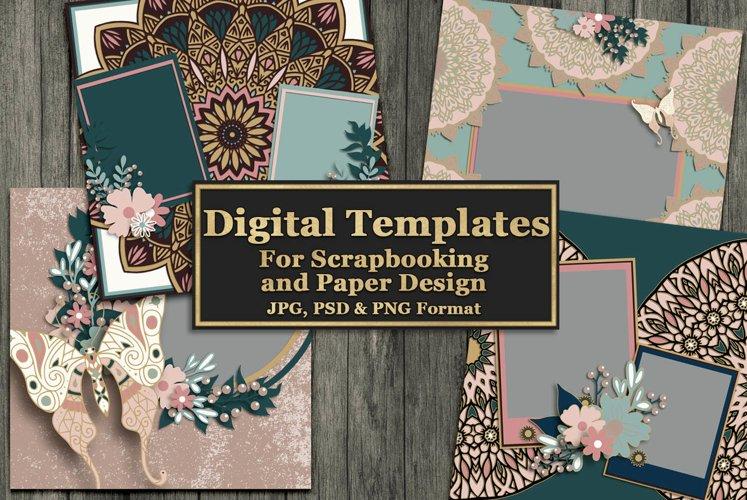 Mandala Magic Digital Templates example image 1