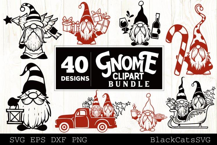 Christmas Gnomes SVG bundle Gnome clipart SVG 40 designs