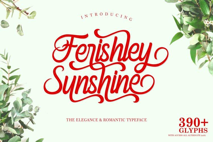 Ferishley Sunshine example image 1