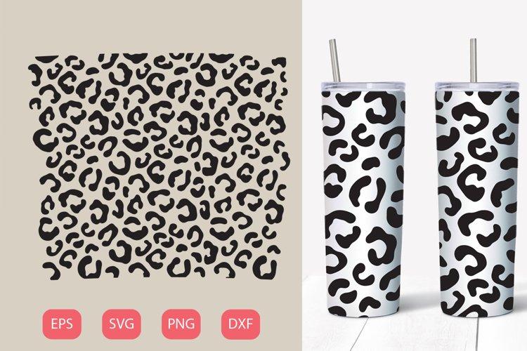 Animal print 20 oz tumbler, SVG seamless