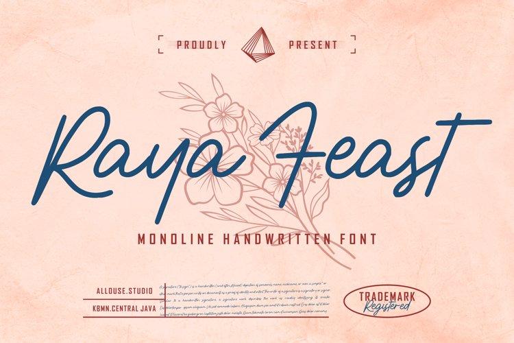 Raya Feast example image 1